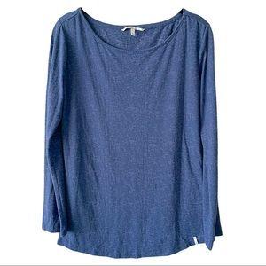 O'Neill Blue Long Sleeve Top Medium